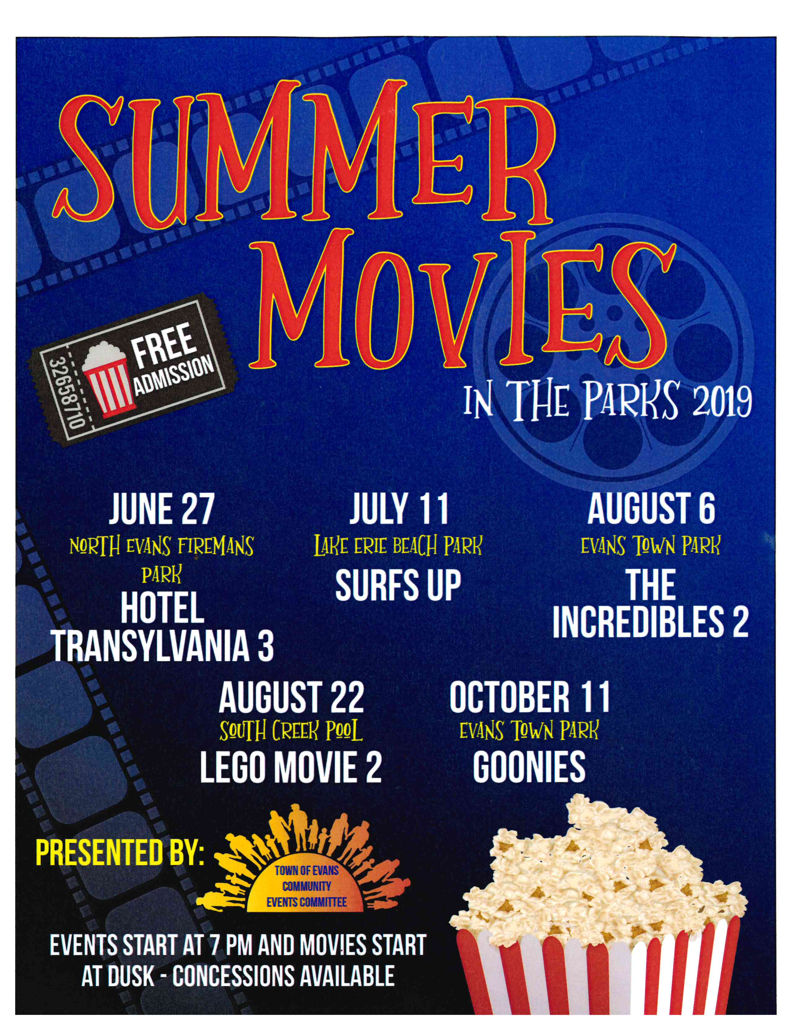 2019 Movies in the Park