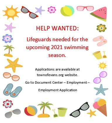 2021 Lifeguards Needed