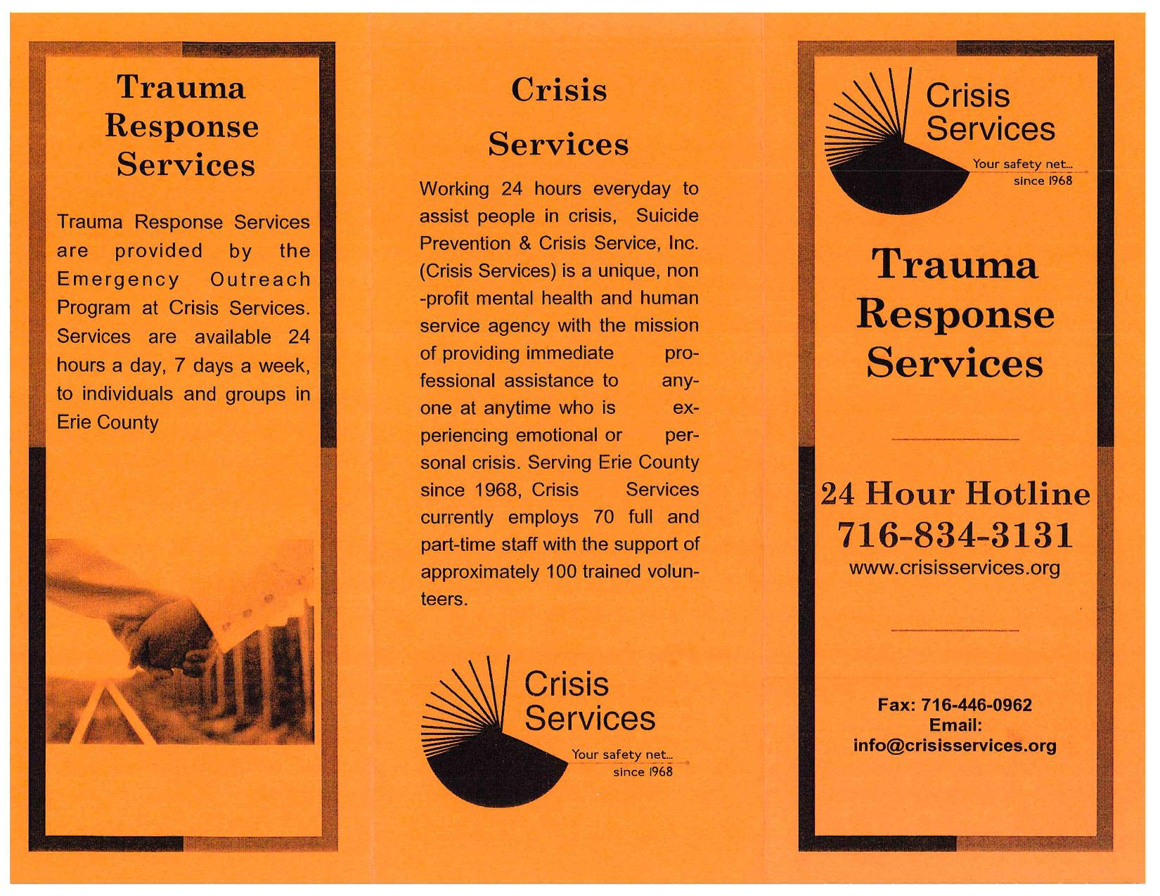 Crisis Services Traumatic Stress page 002