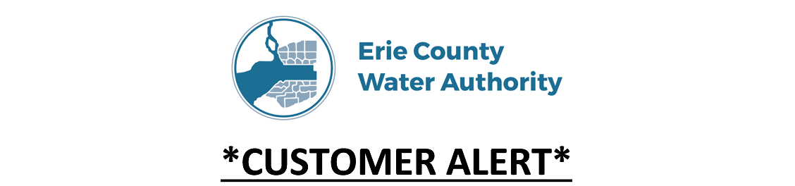 Erie County Water Authority Customer Alert