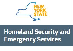 NYS Homeland Security Emergency Services LOGO