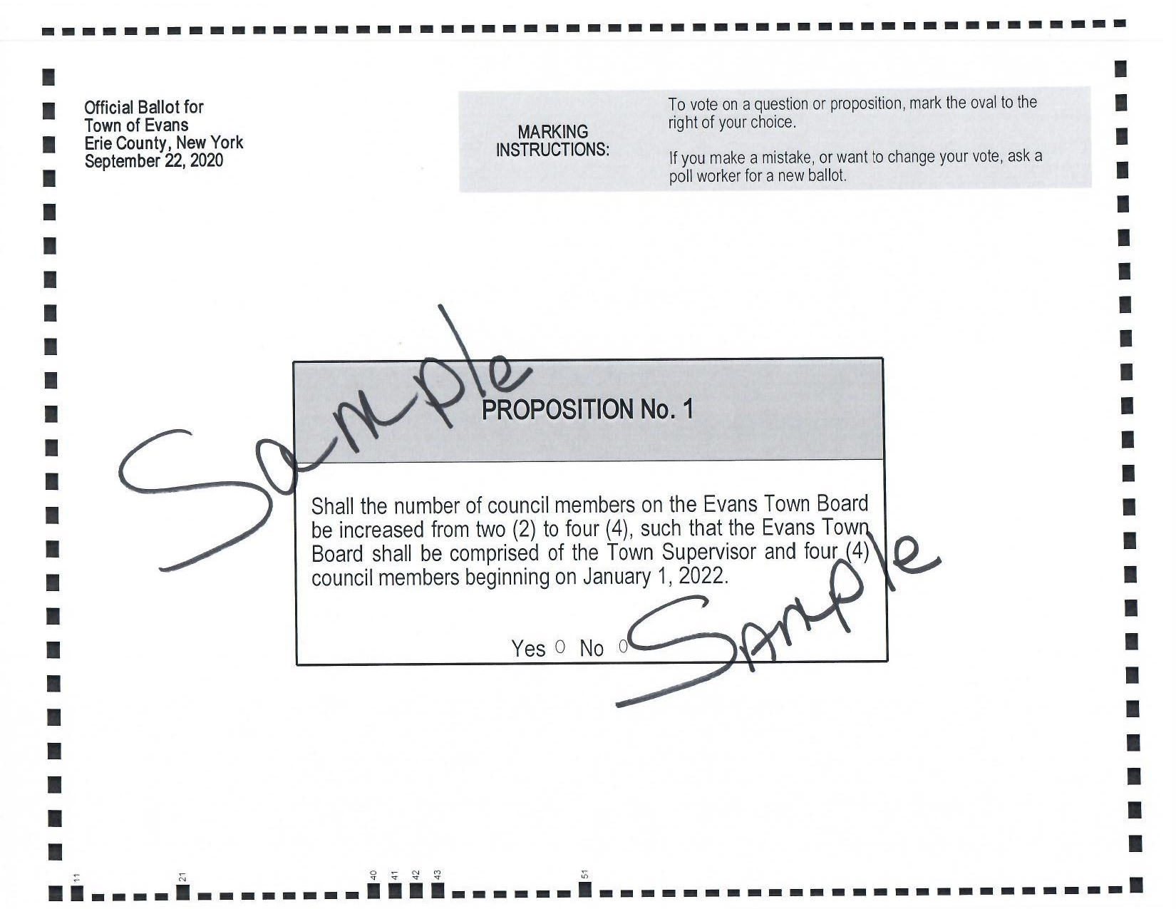 Sample Ballot 2020 09 22